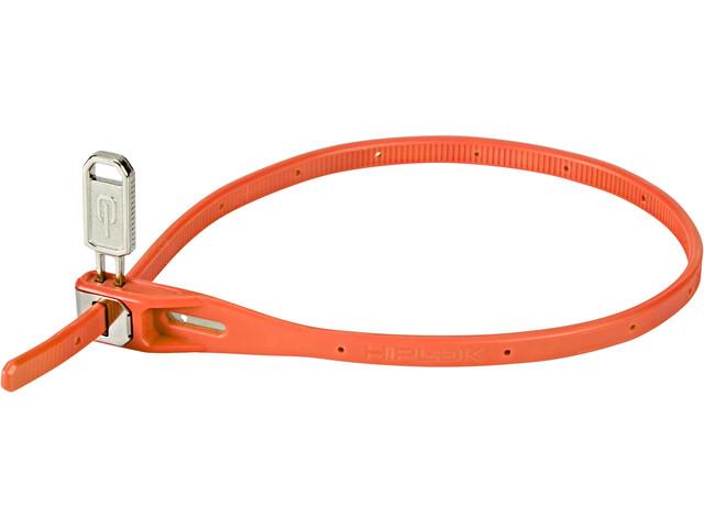 Hiplok Z-Lok Cable Tie Lock 40cm, orange